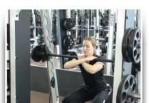 Front Bar Squat Technique