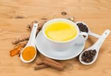 recipe for golden milk