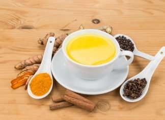 recipe for golden milk