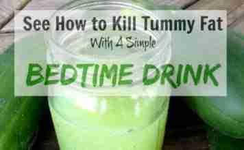 Bedtime Drink For Fat Burn
