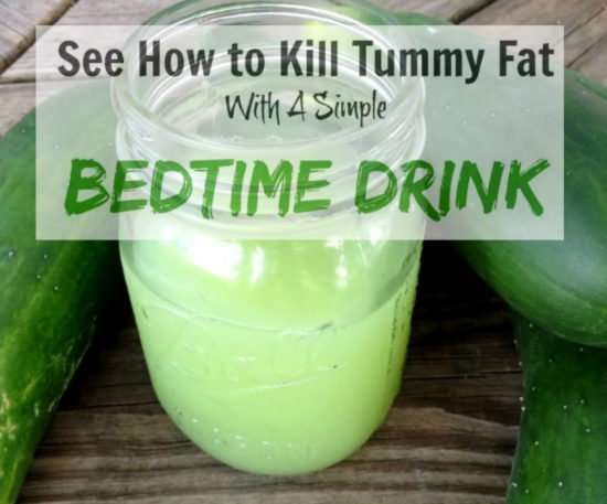 Bedtime Drink For Fat Burn