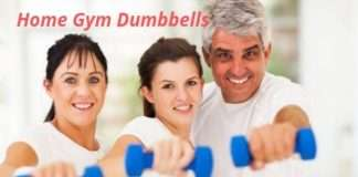 Gym At Home With Dumbbells