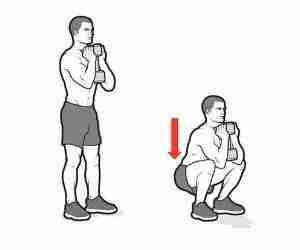 How To Do Dumbbell Goblet Squat