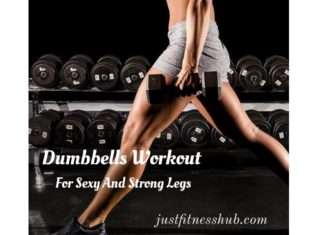 Leg Exercises With Dumbbells