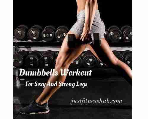 Leg Exercises With Dumbbells