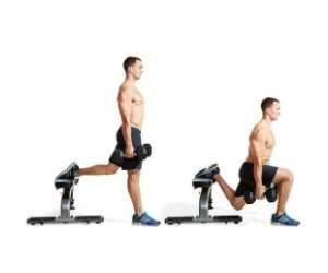 how to do One Leg Dumbbell Squat