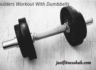Shoulders Exercises With Dumbbells