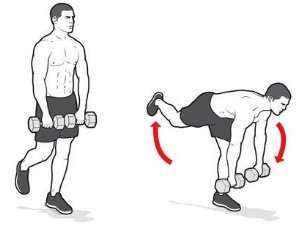 How To Do Single Leg Deadlift with Dumbbell