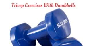 Tricep Exercises With Dumbbells