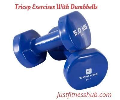 Best Tricep Workout Routine At Home With Dumbbells