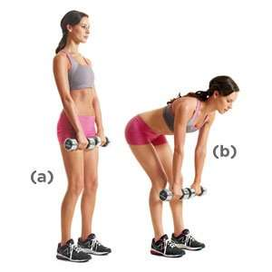 Dumbbell Deadlift For Back