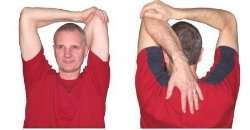 Overhead Tricep Stretches