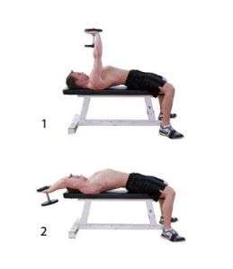 dumbbell pullover for back
