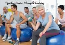 Elderly Strength Training Tips