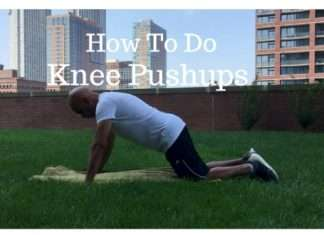How To Do Knee Pushup correctly