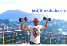dumbbell shoulder press for seniors & beginners