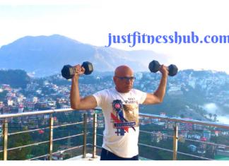 dumbbell shoulder press for seniors & beginners