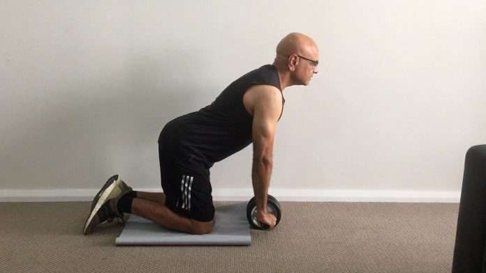 Ab Wheel Rollout Exercise