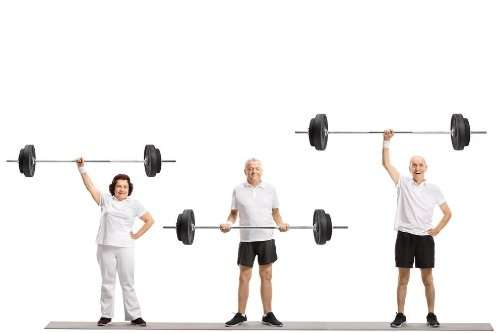 Resistance Training Over 50, 55, 60, 65