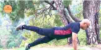 Leg Pull Front Pilates