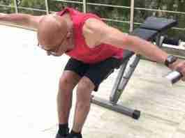 Dumbbell Reverse Fly Exercise