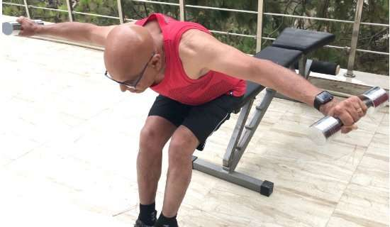 Dumbbell Reverse Fly Exercise
