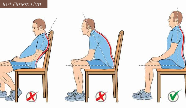 Good Sitting Posture For Heathy Spine & Back