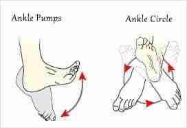 ankle pumps & rotation