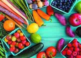 Fruit & Vegetables For Healthy Heart